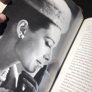 Audrey Hepburn Accents - AUDREY STYLE HARDCOVER A Hepburn coffee table book